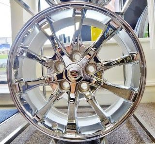 Cadillac CTS 2008 09 10 11 12 2013 CHROME GM DM925 WHEELS 18
