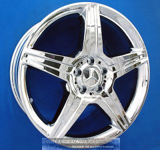 S550 S600 AMG 19 CHROME WHEEL EXCHANGE RIMS S 550 CL550 CL 600