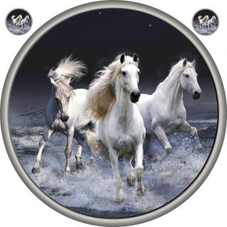 HORSES SPARE WHEEL COVER STICKER