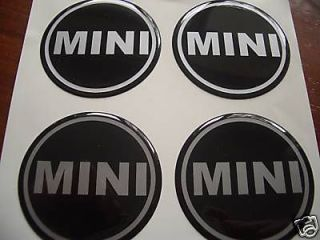 50mm wheel centre cap badges mini x4 one cooper bmw