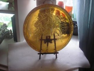 INDIANA GLASS, BICENTENNIAL PLATE, CARNIVAL GLASS 1976