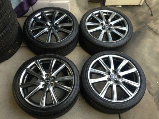 19 2013 LEXUS GS350 F SPORT F SPORT OEM ALLOY WHEELS RIMS TIRES GS450H