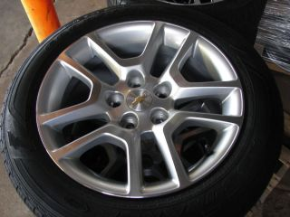 17 2013 Chevy Malibu 10 Spoke Alloy Wheels Rims Tires