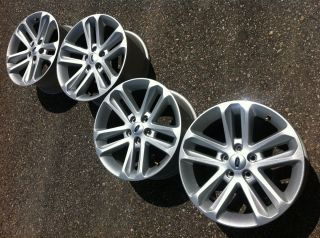 2013 FORD EXPLORER SPORTTRAC OEM FACTORY STOCK 18 WHEELS RIMS AMAZING