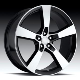 SS 2009 2010 2011 2012 2013 Black Machine Face Wheels Rim