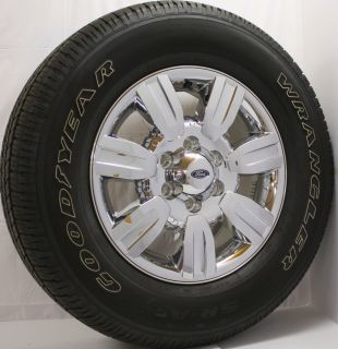 2013 Ford F150 Expedition Chrome Clad 18 Wheels Rims Tires Lugs New