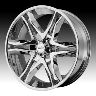16 Wheels Rims American Racing Mainline Chrome with 285 75 16 Terra