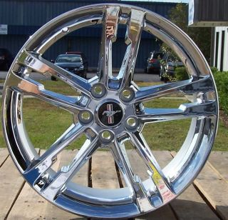 Brand New 18 Chrome Alloy Wheels Rims 2005 2012 Ford Mustang Set of 4