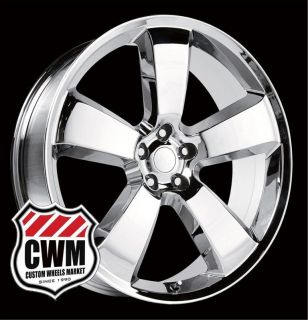 Dodge Charger SRT8 Style Chrome Wheels Rims for Dodge Charger 2012