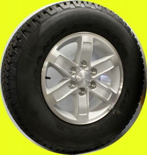 2007 2012 GMC Sierra Yukon 17 Aluminum Wheels Goodyear Tires New Take