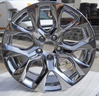 Set of 4 19 PVD Chrome Alloy Wheels Rims for 2007 2011 BMW X5