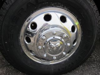 2011 Dodge RAM Dually Forged Alcoa Alloy Wheels Mopar