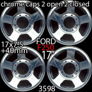 F250SD F350SD 17 2008 2009 2010 FACTORY OEM WHEELS RIMS POLISHED 3598