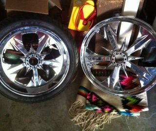 Chip FOOSE Custom Rims 21 Wheel Set for Harley