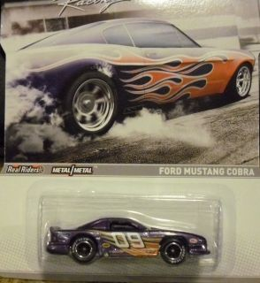 Hot Wheels Racing 2012 Muscle Ford Mustang Cobra New