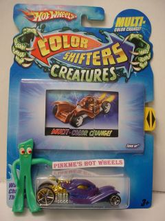 2010 Hot Wheels Color Shifters Creatures★tomb Up★blue