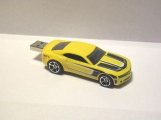 Custom 2011 Chevy Camaro Hot Wheels USB Flash Drive