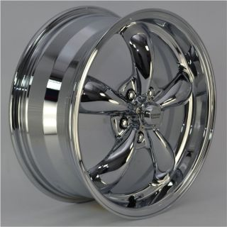 Chrome 5 Spoke Wheels Rims 5x110 mm lug pattern for Chevy HHR 2008