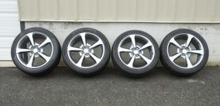 Camaro SS Factory OEM 20 Midnight Silver Wheels Tires 2010 2011 2012