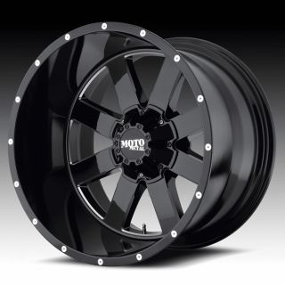 22x14 Moto Metal Black Wheels Rims 2007 Jeep Wrangler Lifted