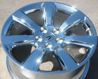 YOUR STOCK 2010 13 4 NEW 19 FACTORY ACURA ZDX OEM CHROME WHEELS RIMS
