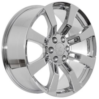 inch chrome Chevy Silverado 2010 Suburban Tahoe Avalanche wheels rims