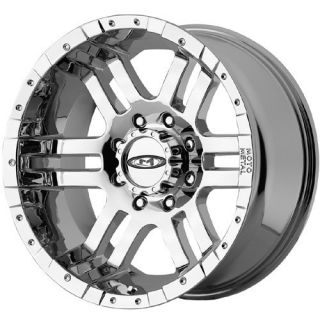 20 inch Moto Metal 951 Chrome Wheels Rims 6x4 5 6x114 3