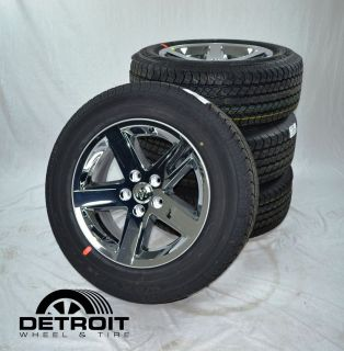 Dodge RAM 1500 20 Chrome Wheels Rims Goodyear Tires 2364CCC
