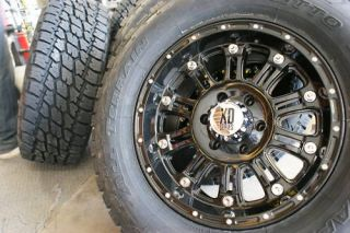 20 XD795 Hoss Gloss Black Wheels Rims 275 55R20 Nitto Terra Grappler