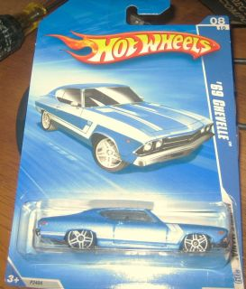 2009 HOT WHEELS MUSCLE MANIA, 69 CHEVELLE SS *K MART Exclusive VHTF