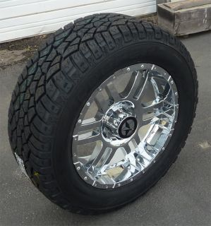 Chrome Wheels and Tires Dodge Truck, Ram 1500 20x9 Rims & Cooper Tires