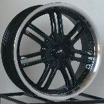 17 inch Black Wheels Rims Honda Accord Civic 5 Lug New