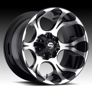 20x9 20 Fuel Dune Black Wheels Rims 6x5 5 6x135 6 Lug Chevy GM Ford