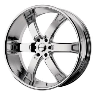 22 inch KMC Brodie Chrome Wheels Rim 6x5 5 6x139 7 Toyota Sequoia