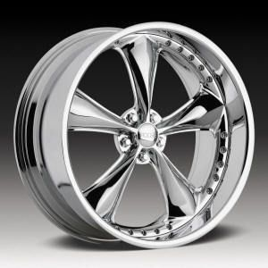 Nitrous 5 Lug 5x120 Chrome One Single 11 Replacement Wheel Rim