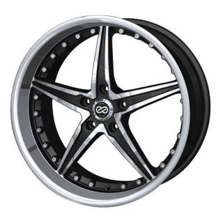 18 Enkei LSR Black Rims Wheels Accord Altima Maxima