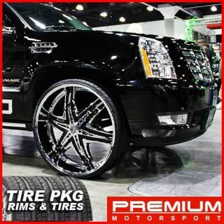 28 inch Rim Wheels Tires Diablo Elite Hummer H2 Rims