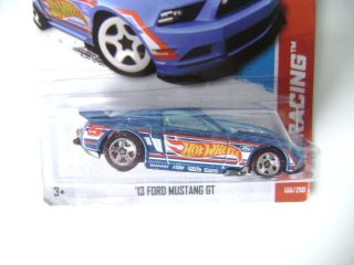 Hot Wheels 2013 13 Ford Mustang GT HW Racing B Case 106 250