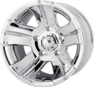17 ion 138 Wheels Rims Chrome Dodge Dakota Durango RAM