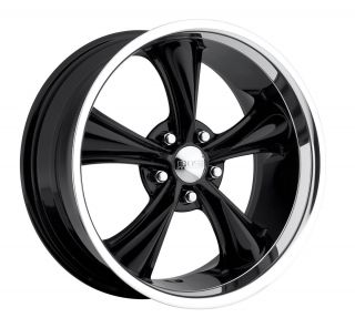 Boss Motorsports style 338 wheels rims, 20x8.5, 5x5, +14mm, black