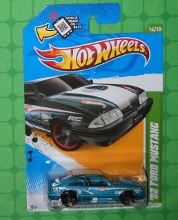 2012 Hot Wheels Treasure Hunt 14 92 Ford Mustang