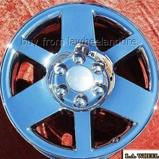 GMC SIERRA YUKON DENALI SUBURBAN OEM CHROME WHEELS RIMS EXCHANGE 5302