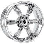 22 inch Chrome Wheels Rims Dodge Dakota Durango 6 Lug