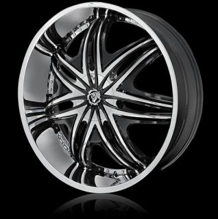 Wheels Chrome Morpheus Rims Tire Escalade Navigator H2 GMC 22 24 26