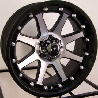 20 BLACK XD ADDICT WHEELS RIMS CHEVY SILVERADO GMC DODGE RAM 2500 3500