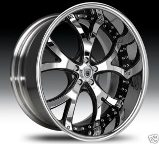 26 asanti 26 inch AF143 AF 143 Chrome Multi 2 Piece Rims Wheels Tires