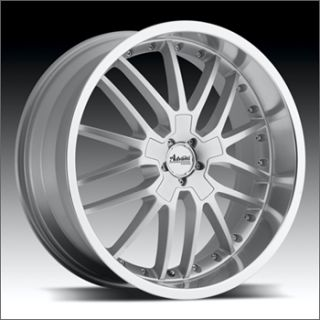 17 Advanti A5 Silver Rims Wheels RSX Eclipse Mazda3 XB