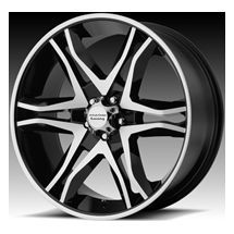 18 American Racing Mainline Wheels 18x8 5 30 6x135