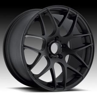 19 UO02 Black Rims Wheels 350Z 370Z G35 Coupe G37 Tires