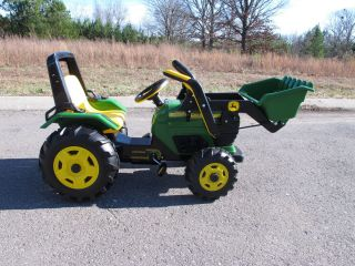 Peg Perego John Deere Loader Chain Drive Ride on Power Wheels